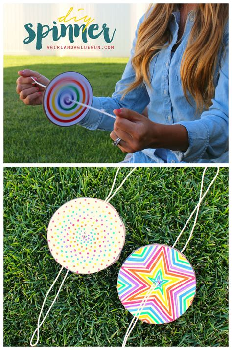 Diy Paper Spinner  Make And Takes