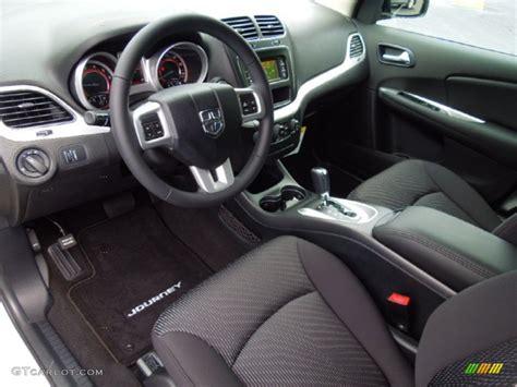 Black Interior 2013 Dodge Journey SE Photo #70399929