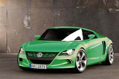 volkswagen mid engine sports coupe news top speed