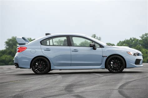 subaru wrx  sti  gray  limited series