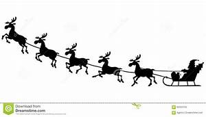 Sleigh Clipart Silhouette Pencil And In Color Sleigh