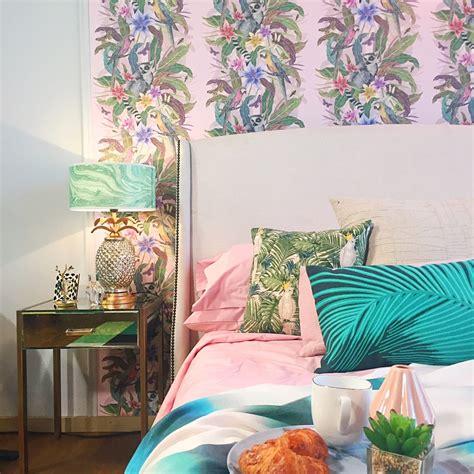 trend   design  tropical bedroom sophie robinson