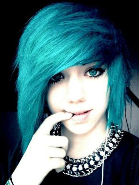 Blue Scene Hair Scene Hair And Hair Pinterest My
