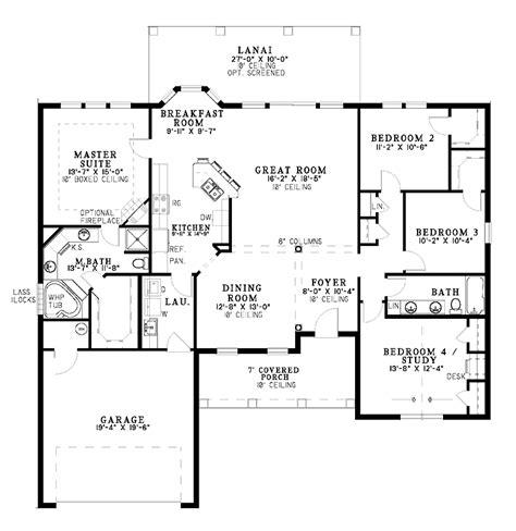 One Level Home Plans Smalltowndjscom
