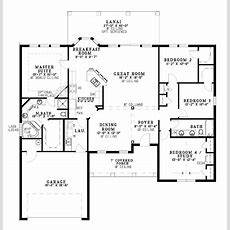 One Level Home Plans Smalltowndjscom