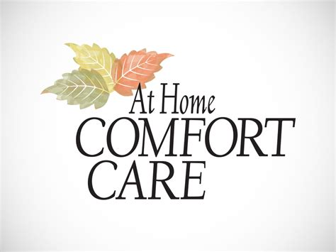 comfort care home health at home comfort care jim trout illustration design