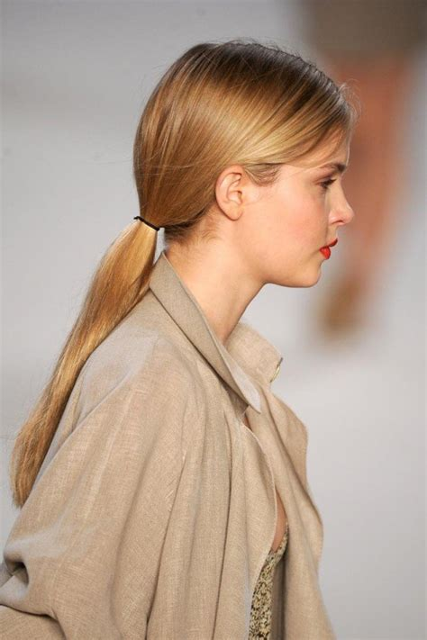 low ponytail hairstyles pretty low ponytail hairstyles for all to try