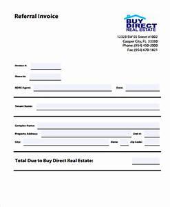 8 real estate invoice templates word pdf free With real estate invoice template