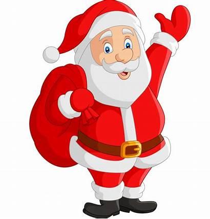 Claus Santa Cartoon Noel Animado Sack Papai