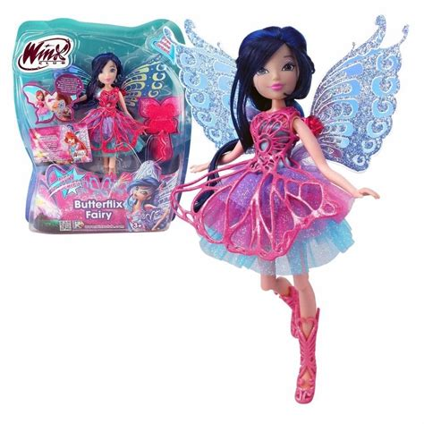 boneca clube das winx musa butterflix fairy cm