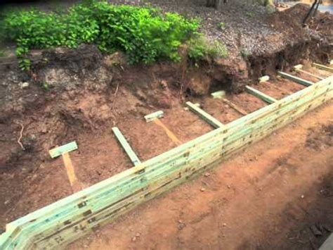 wood retaining wall construction wood retaining wall construction www pixshark com images galleries with a bite