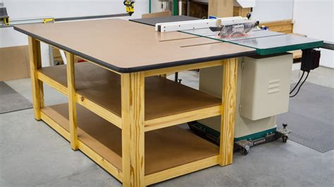 kitchen work islands build a workbench outfeed table