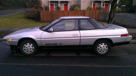 Subaru Xt Turbo by Wedgy 1986 Subaru Xt Turbo 4 215 4 Plus Bonus Dl