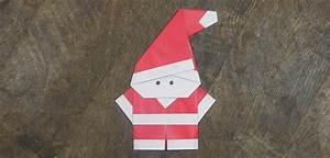 Origami Facile Noel : origami p re no l facile et super mignon ~ Melissatoandfro.com Idées de Décoration