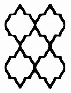 moroccan shape stencil wwwimgkidcom the image kid With moroccan shapes templates