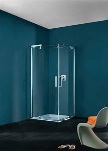 portes de douche refresh pure huppe induscabel salle With porte douche huppe