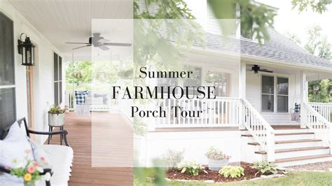 Farmhouse Front Porch Summer Decorating Ideas Youtube
