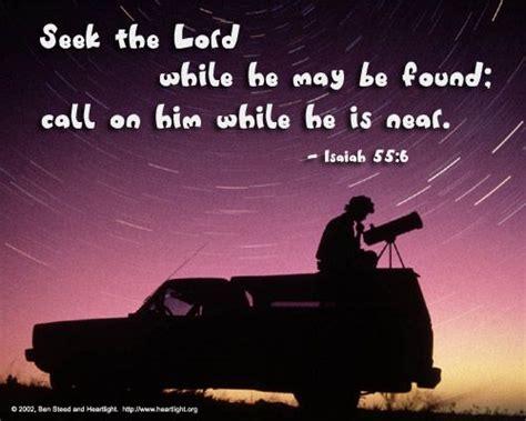 Inspirational Illustration Of Isaiah 55