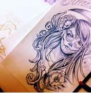 Good Girl Tattoos Tumblr by Sugar Skull My Style Tatt 39 D Up Pinterest Tattoo Ideas The Dea