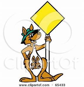 Kangaroo Sign Clipart (23+)