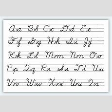 How To Write In Cursive For Beginners  Making Different