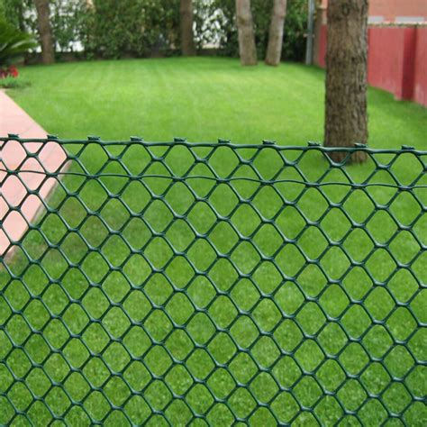 green heavy duty rigid plastic hexagonal mesh garden