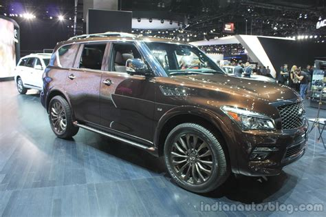 Infiniti Qx80 Limited Edition Front Three Quarters Left At