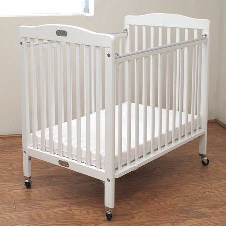 portable baby crib l a baby wooden mini portable crib with mattress white