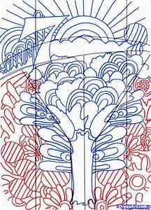 how to draw trippy art, trippy art step 5