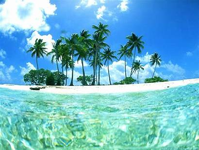 Tropical Background Beach Beaches Wallpapers Resolution Wallpapertag