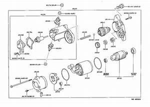 Lexus Lx 450 Clamp  Starter Motor Lead Wire