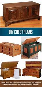 DIY Chest Plans, from cedar and blanket chests to heirloom
