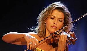 Anne Sophie Mutter, violoniste | Paloma Valeva