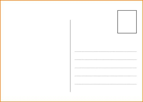 postcard template 7 postcard back template card authorization 2017