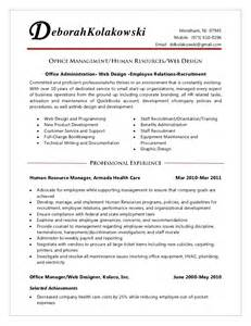 Medical Assistant Front Desk Resume by Office Manager