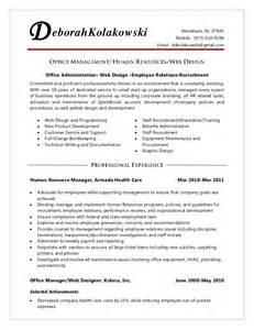 Medical Front Desk Resume by Office Manager