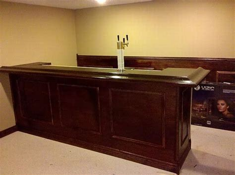 Building A Bar In The Basement by How To Build Your Own Basement Bar In 5 Steps Zozeen
