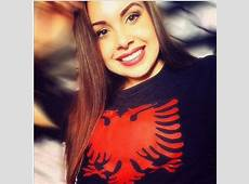 Albanian Pride Worldwide Albanian girls wearing red and