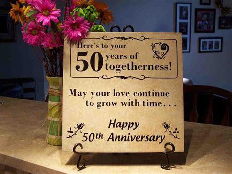 golden wedding anniversary gift ideas  parents