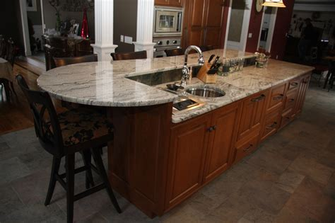 custom kitchen island designs custom kitchen island cabinets with seating in wilbraham
