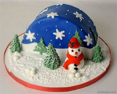 1000 ideas about christmas cake decorations on pinterest