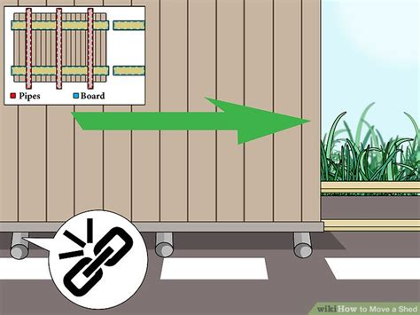 how to move a shed 4 ways to move a shed wikihow