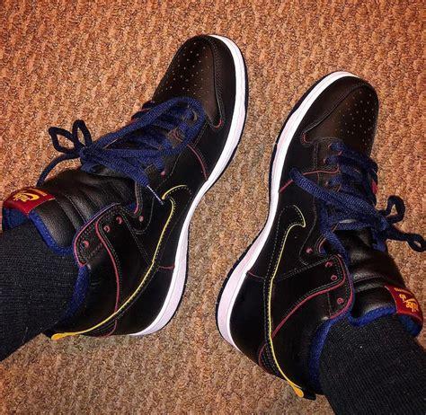 NBA Nike SB Dunk High Cleveland Cavaliers BQ6392-001 ...