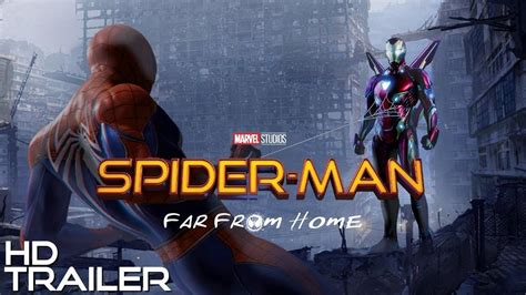 spider man   home official trailer hd  youtube