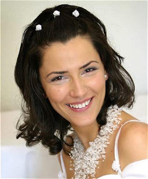 bridal hairstyles medium length hair for long hiar with