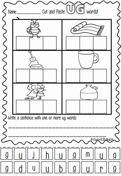 Ug Word Worksheets Activities Spelling Games Literacy