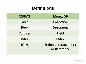 migrating to mongodb best practices With embedded documents mongodb