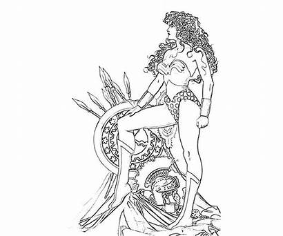 Coloring Pages Among Injustice Adult Wonder Woman