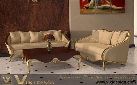 gold living room set modern house