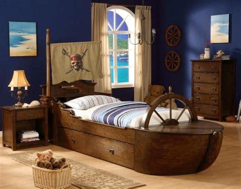 chambre bateau pirate décoration de lit d 39 enfant idées pour les filles et les